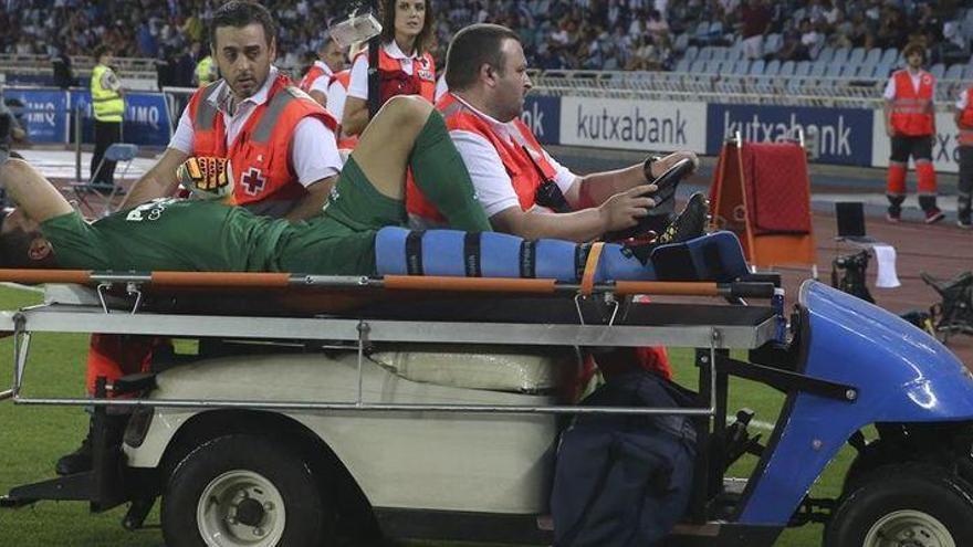Andrés tiene dañado el ligamento cruzado anterior de la rodilla