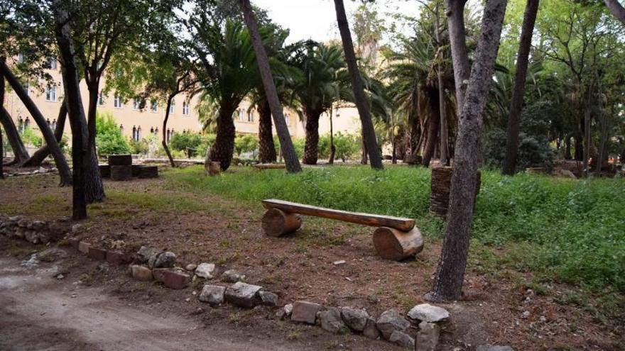 Burjassot reobri el jardí de la Devesa del Castell
