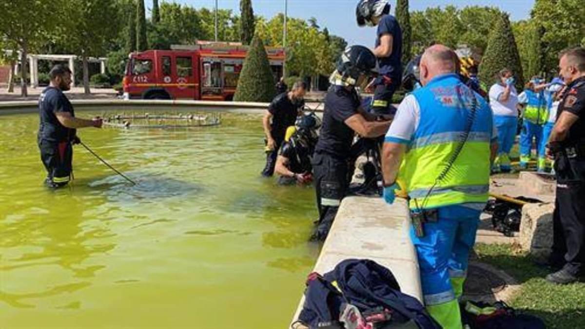 Muere ahogado un menor al ser succionado en una fuente de Móstoles