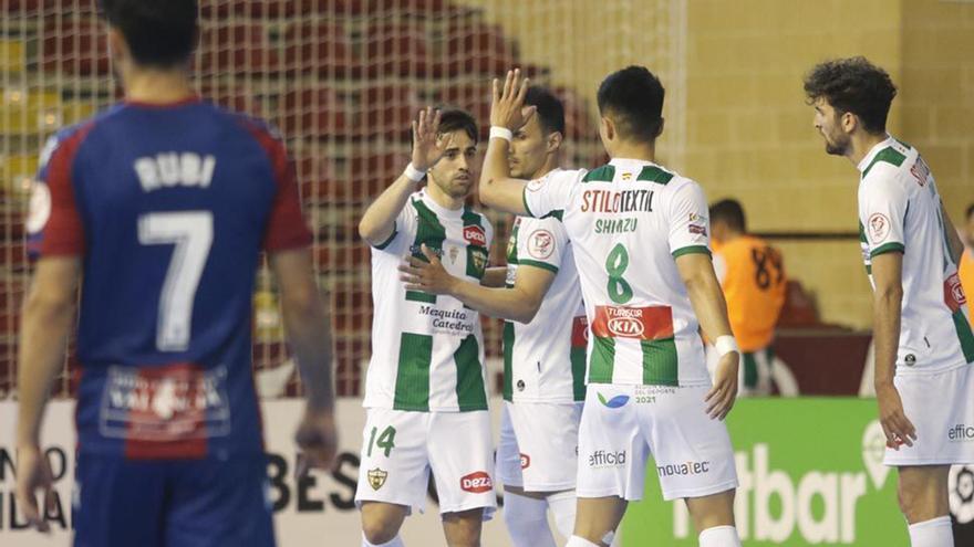 El Córdoba Futsal aborda un día grande en Vista Alegre