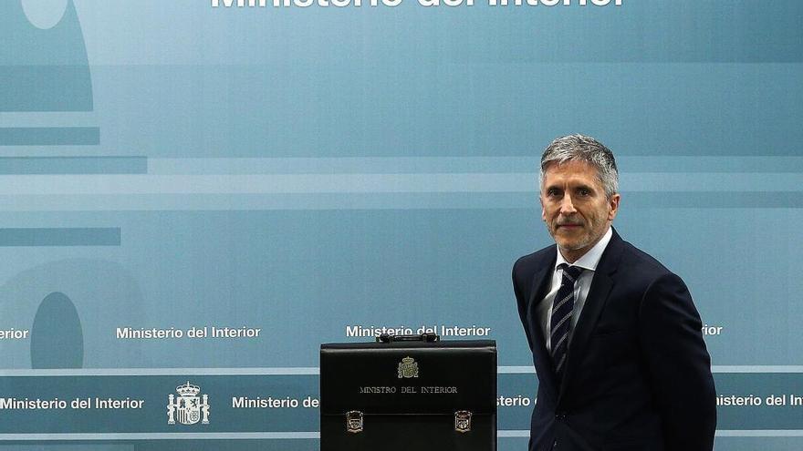 Fernando Grande-Marlaska: una equiparación salarial real y que  se destinen más agentes a la Región