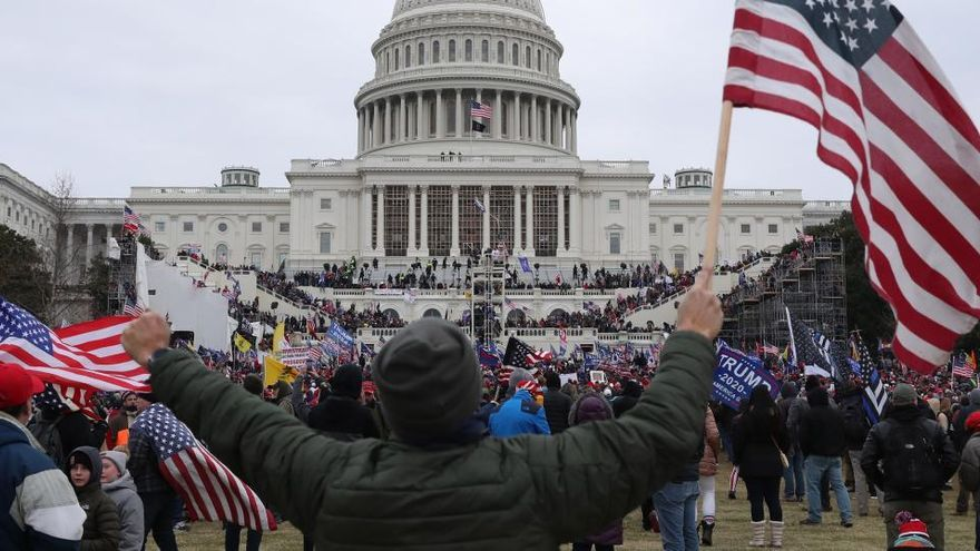 """Alertan de """"protestas armadas"""" en EEUU contra la investidura de Biden"""