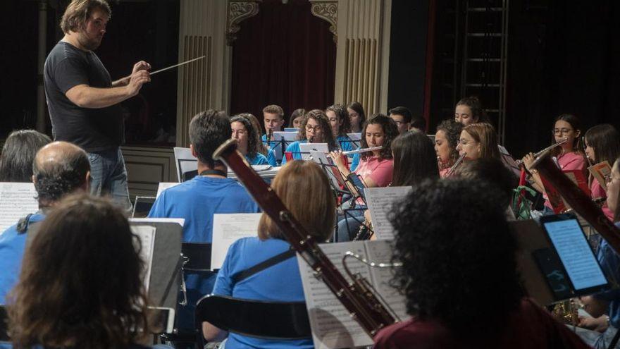 Doble cita con la Banda de Música de Zamora este sábado