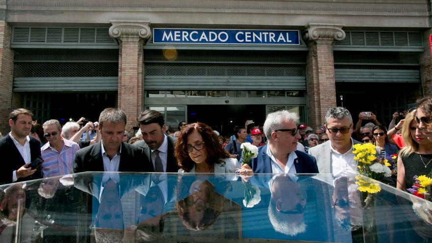 Visitas virtuales, una 'perfomance' y una ofrenda floral honrarán a los fallecidos en el bombardeo del Mercado Central