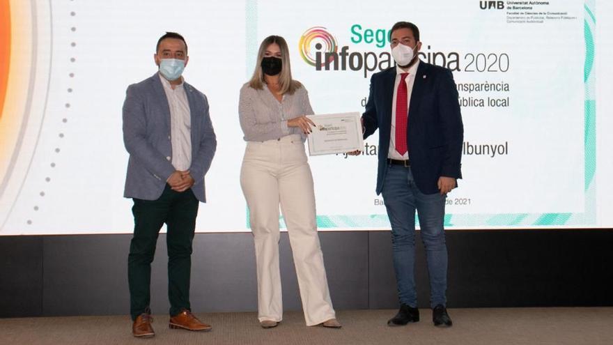 Rafelbunyol logra el Sello Infoparticipa a la transparencia