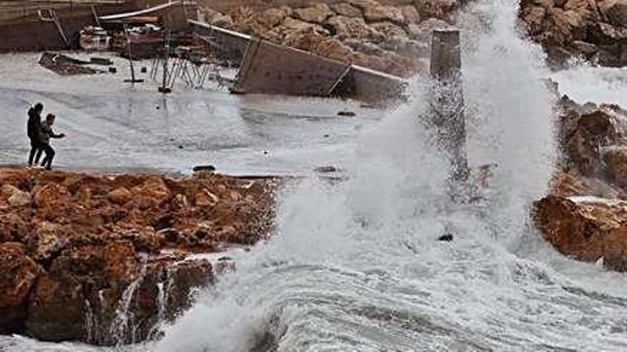 'Gloria' dejará en Ibiza el temporal más intenso de lo que va de invierno