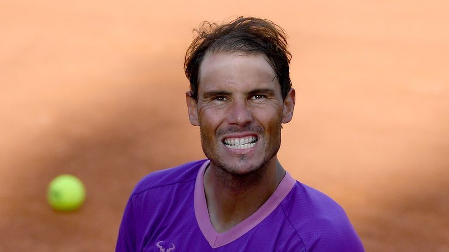 Horario y dónde ver hoy a Nadal contra Zverev en Roma