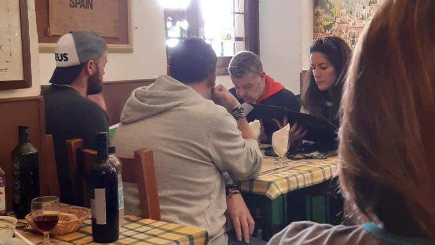 Alberto Chicote graba en Palma y come en Casa Julio