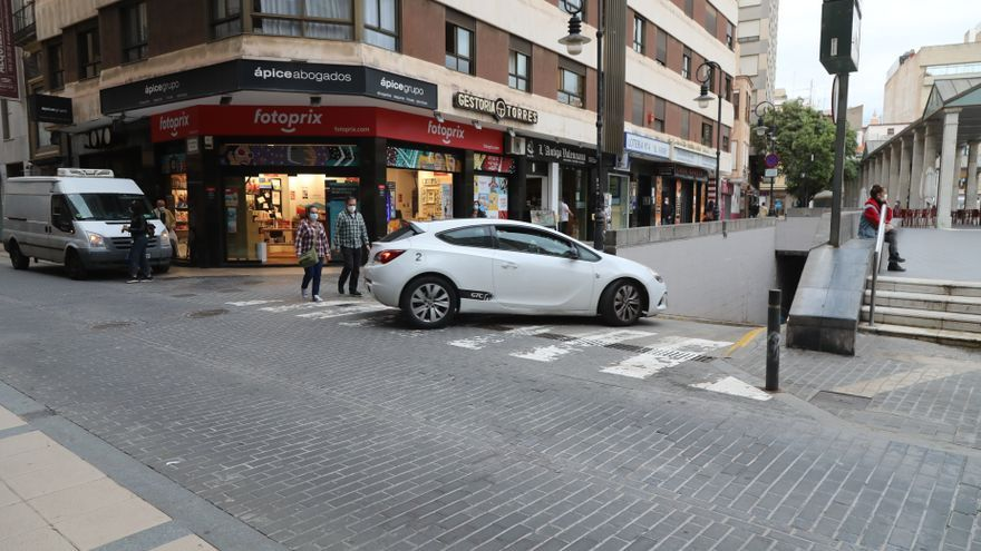 Las cámaras aumentaron en un 24% el uso de párkings del centro de Castelló
