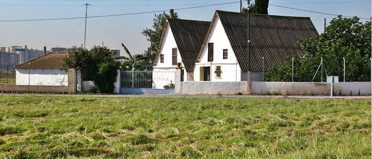 Imagen del catálogo de 2008 de las barracas de Panach, en el antiguo camino de Farinós. | A.V.