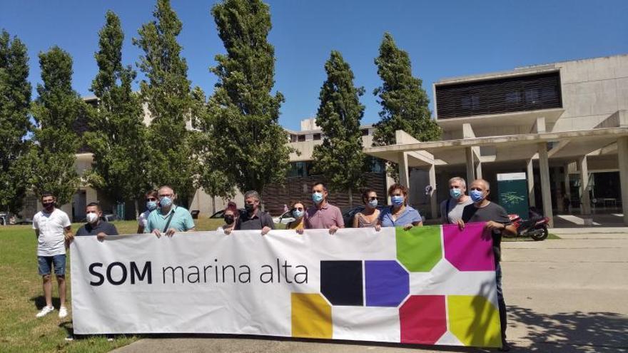 Alcaldes de Compromís crean «Som Marina Alta» para urgir el rescate de la sanidad