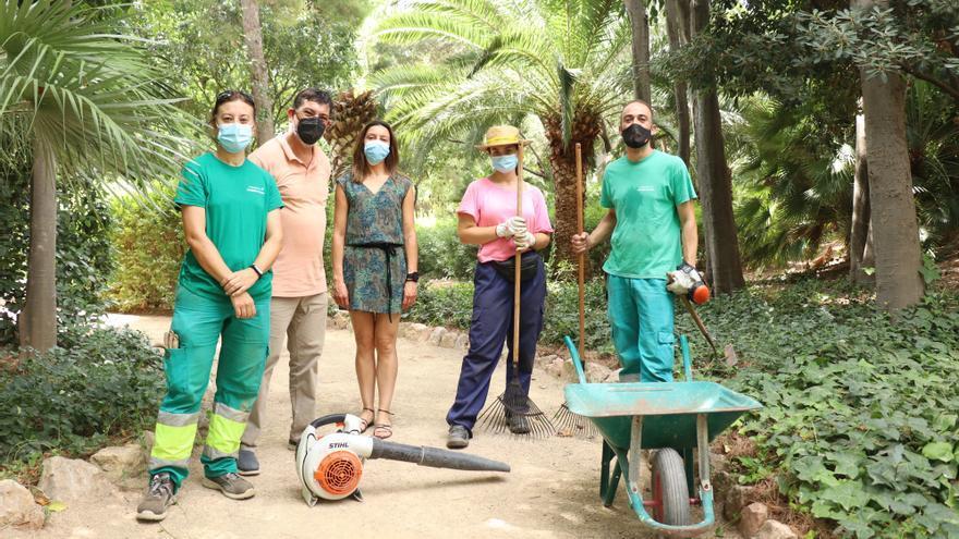 Jardinería, administración o albañileríapara encontrar un empleo