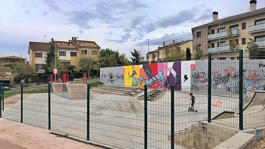 L'Ajuntament de Solsona engega una proposta per dinamitzar l'skatepark