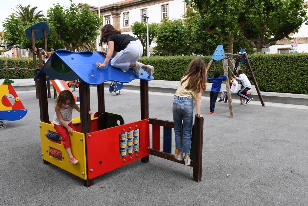 A Coruña estrena la nueva normalidad