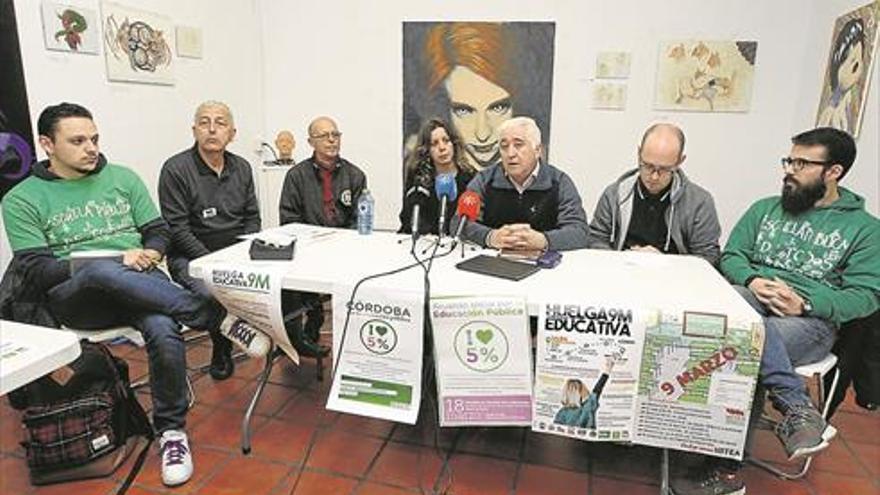 Organizaciones y colectivos se movilizan en defensa de la enseñanza pública