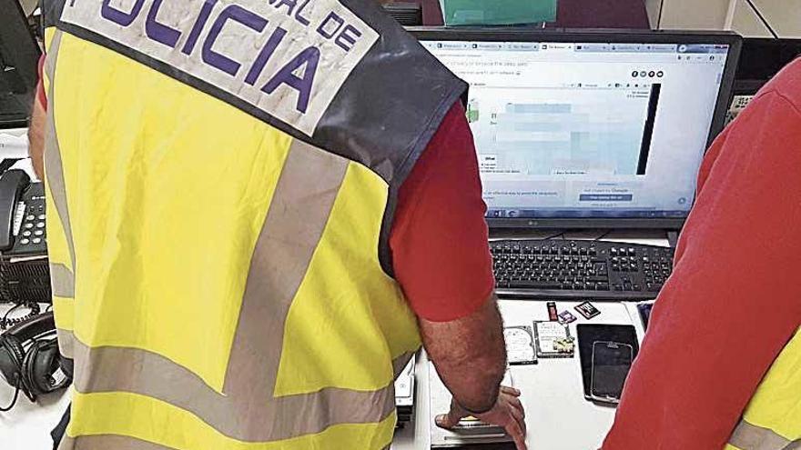 Un arrestado en Palma en una operación internacional contra el dinero falso