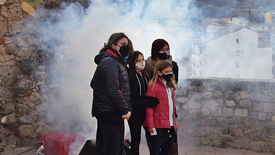 L''escape room' sobre el castell de Gironella atrau 200 persones