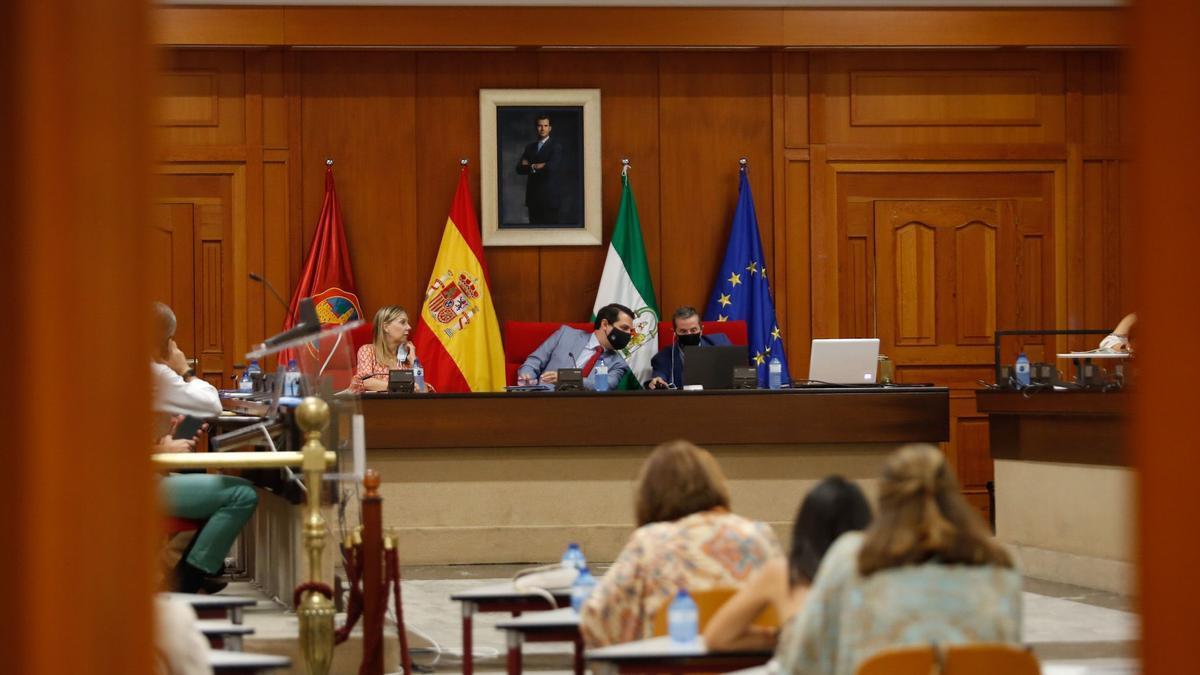 Pleno de agosto del Ayuntamiento de Córdoba.