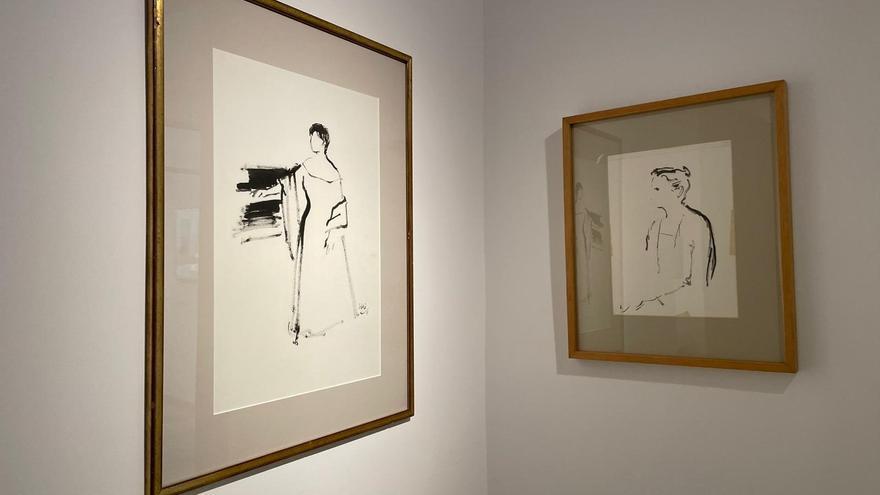 El Gaya expone una selección de los mejores dibujos del pintor murciano