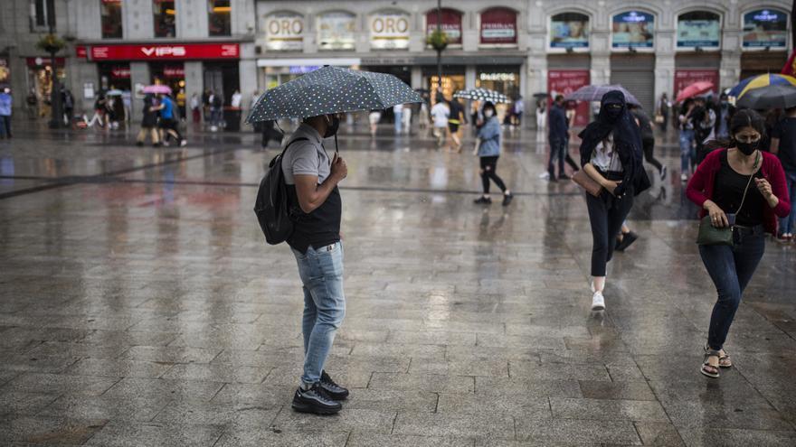 Las lluvias y tormentas ponen este lunes en aviso a Huesca y Teruel