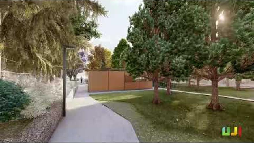 Así será el segundo mayor espacio verde de la UJI, que obligará a reorganizar el tráfico en el campus