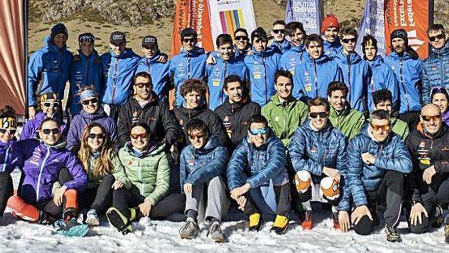 La selecció catalana d'esquí de muntanya presenta el calendari
