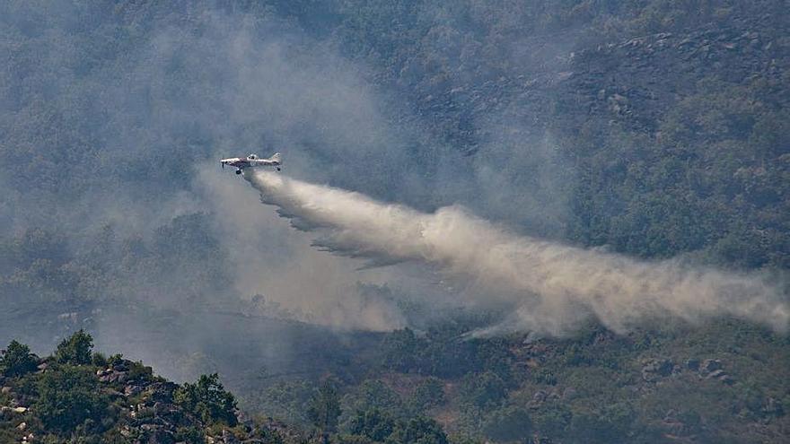 Extinguidos los incendios de Verín y Viana, que Medio Rural rebaja a 354 hectáreas