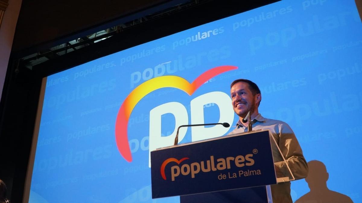 Mariano H. Zapata, elegido presidente del PP en La Palma.