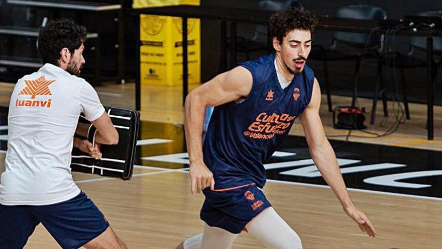 El Valencia Basket recupera a Josep Puerto