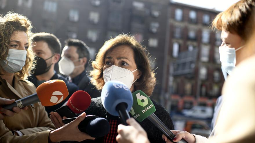 """Calvo, sobre el 8M: """"La pandemia está antes, la vida está antes"""""""