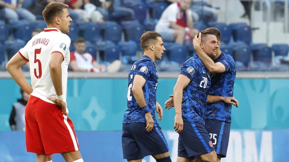 Eslovaquia, rival de España este miércoles.