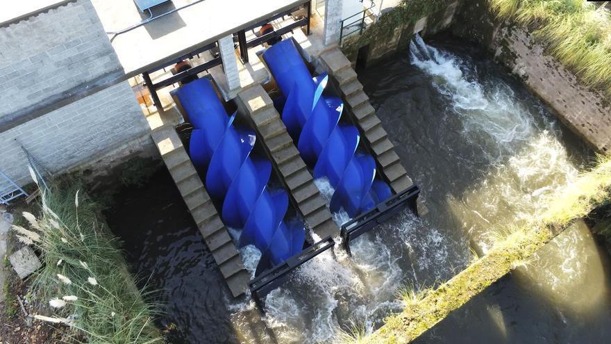 Los ríos enllenaranse d'hidrotornillos: tecnoloxía asturiana pa vieyes preses del Nalón, el Narcea y l'Esva