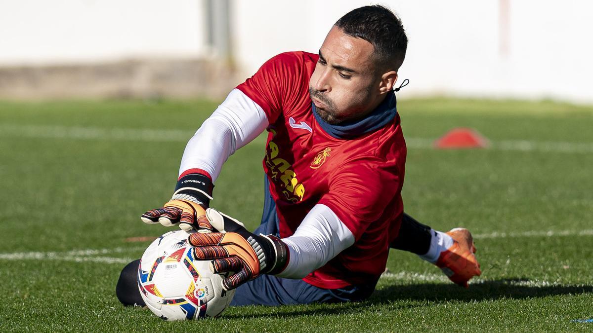 Sergio Asenjo, guardameta del Villarreal CF.