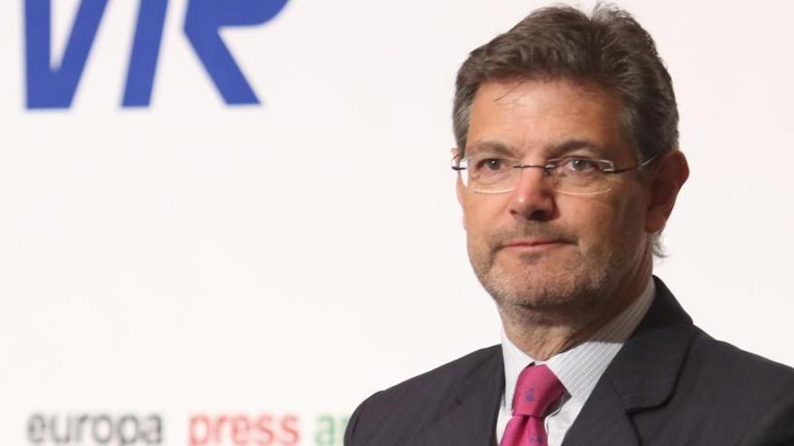 Rafael Catalá renuncia a su acta en el Congreso