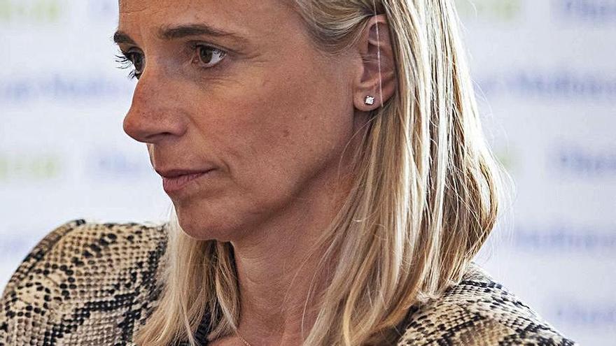 María Frontera, actual presidenta de los hoteleros. | B.RAMON