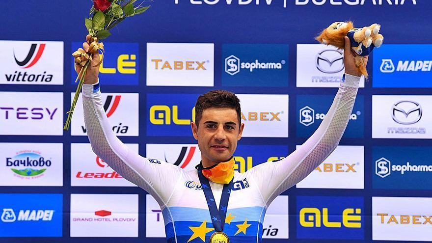 Mora, campeón de Europa en Puntuación