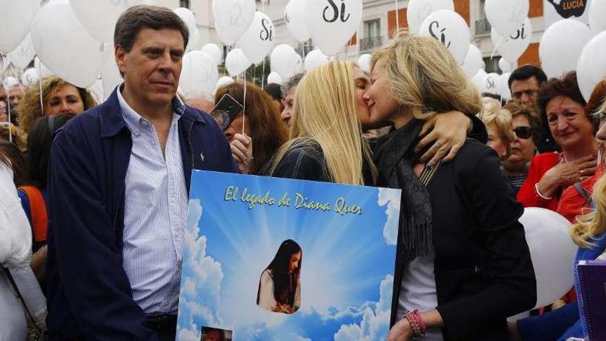 """Juan Carlos Quer, a su hija: """"Cada noche siento más tu muerte que mi vida"""""""