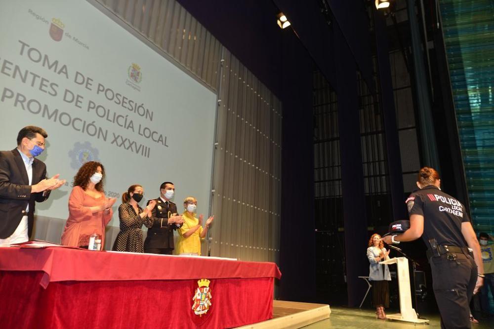 Jura de cargos de la Policía Local de Cartagena