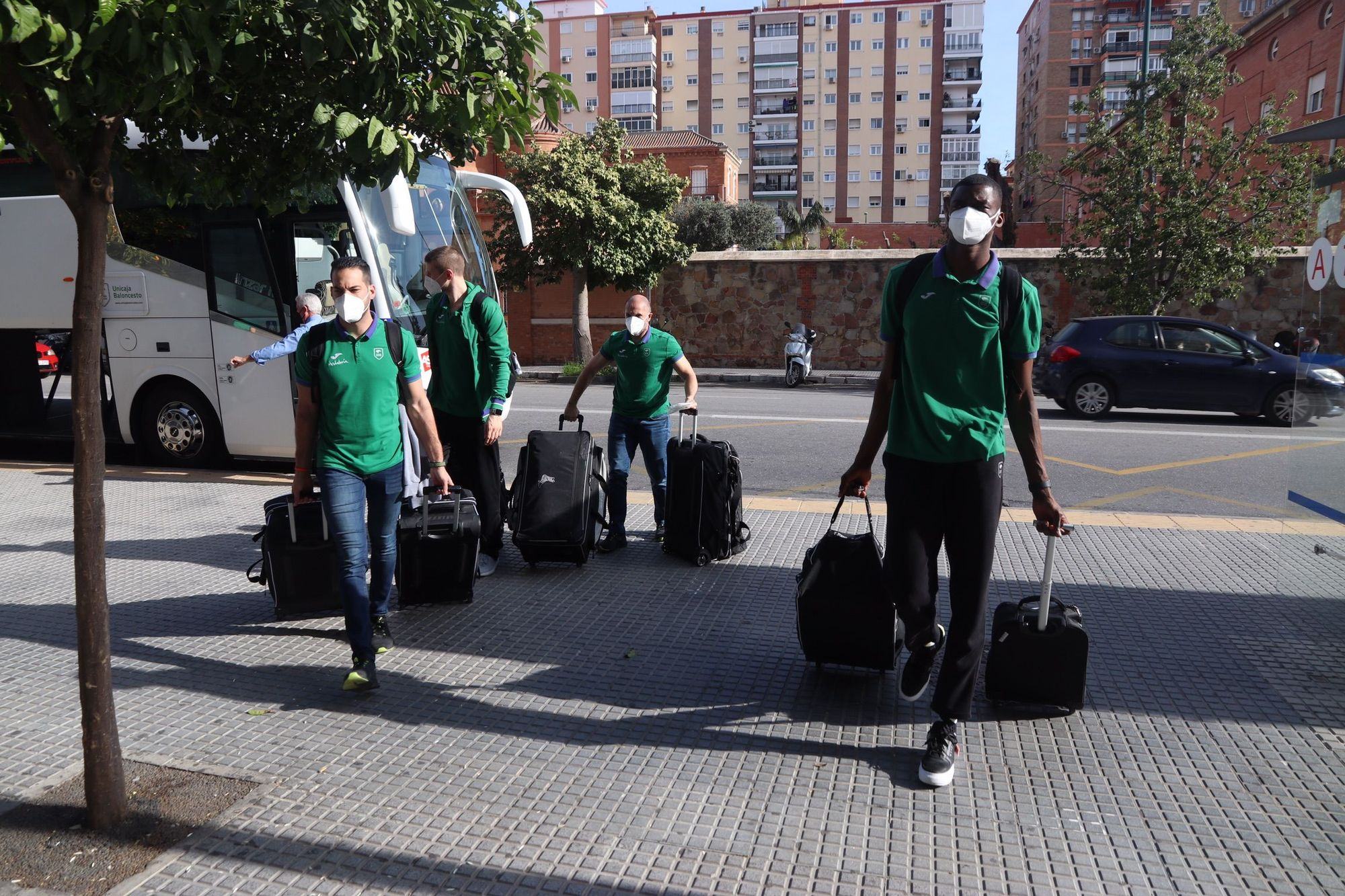 El Unicaja parte para la Copa del Rey de Madrid