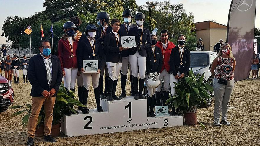 El Club d'Equitació Es Pas gana el Balear
