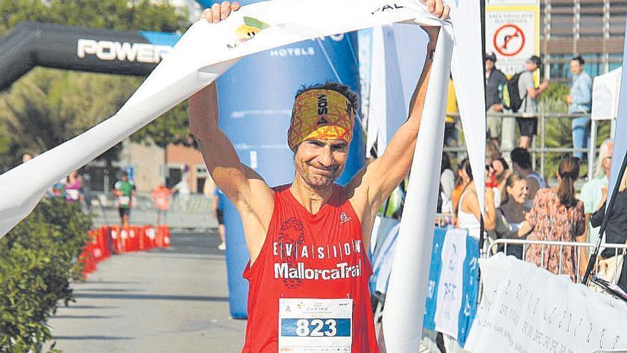Toni Contestí fue primero en el Regional de maratón.