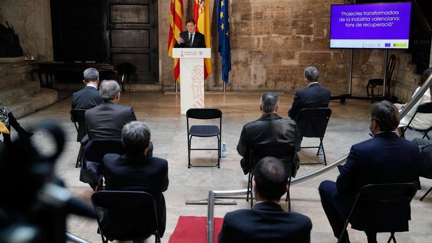 El sector empresarial solicita 5.500 millones a Europa para la reindustrialización de la Comunidad Valenciana