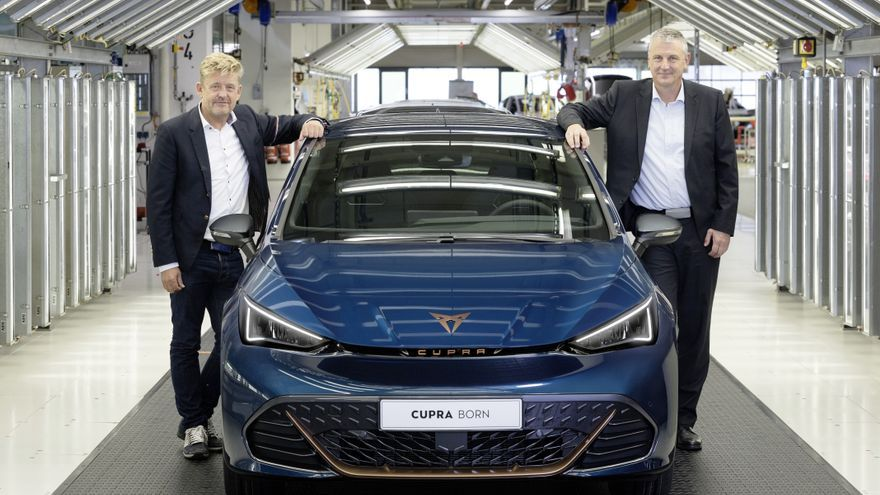 El Cupra Born ja es fabrica en sèrie a Alemanya i estarà disponible a partir del novembre