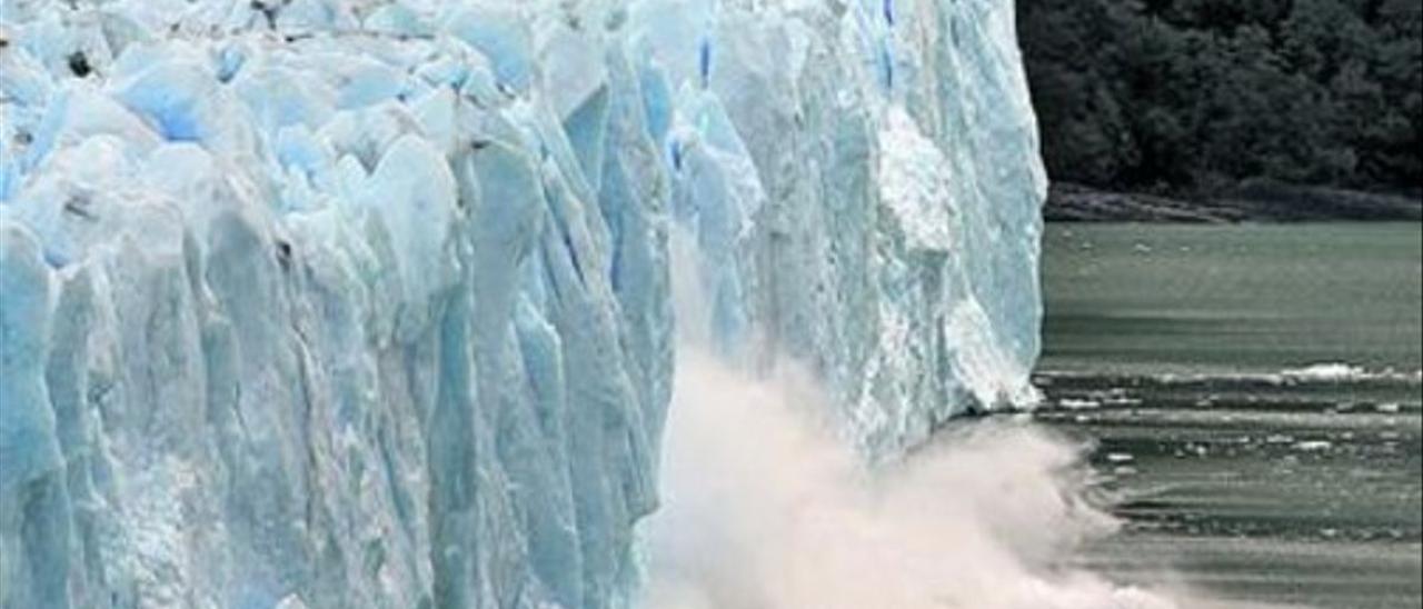 El calentamiento amenaza glaciares como el Perito Moreno