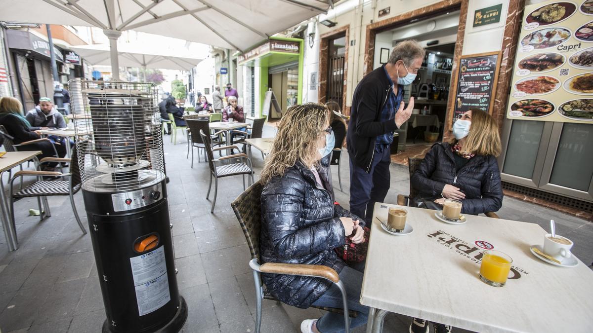 La reapertura de las terrazas en la provincia de Alicante
