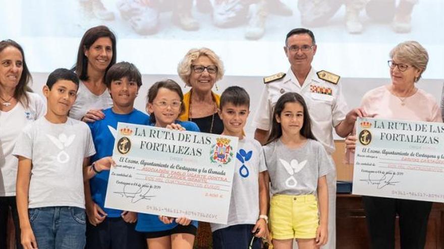 La décima Ruta de las Fortalezas dona 52.200 euros