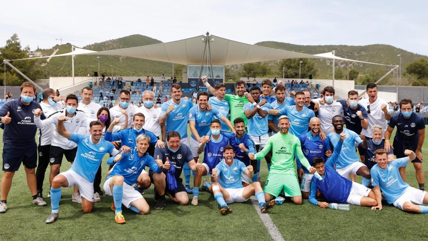 La UD Ibiza empezará el 'play-off' a Segunda con el Zamora, el Amorebieta, el Algeciras, el Castilla o el Calahorra