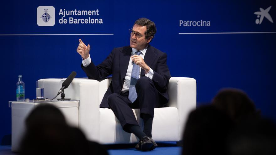 Garamendi matiza que la CEOE no se posiciona sobre los indultos