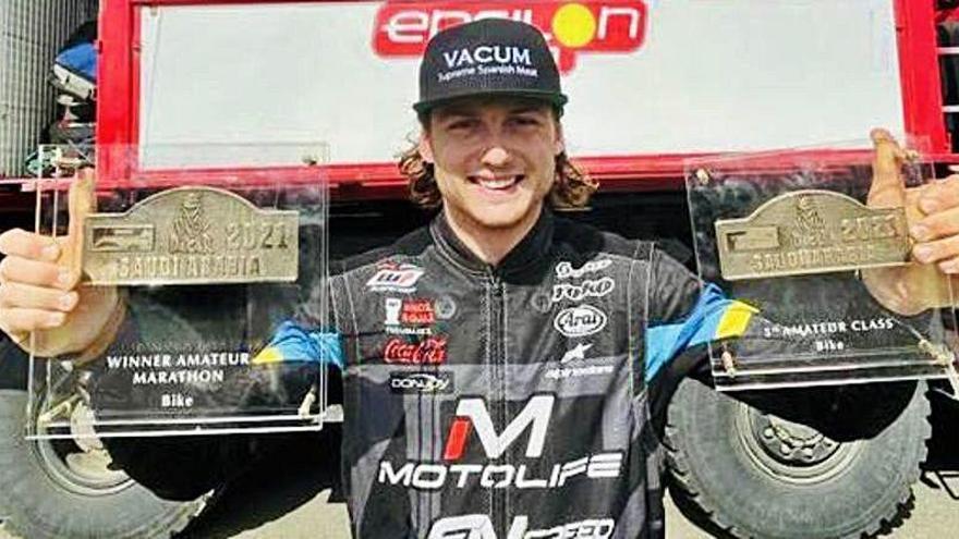 Tres valencianos completan el Dakar en Arabia Saudí