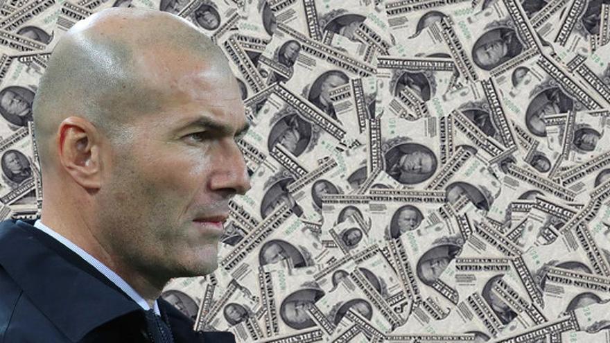 La millonada que Florentino ha perdonado a Zidane